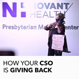 CSO Giving Back