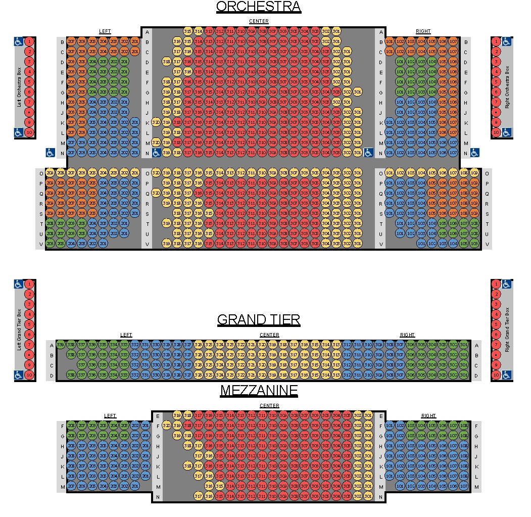 Theaters, Parking & Accessibility | Charlotte Symphony ...