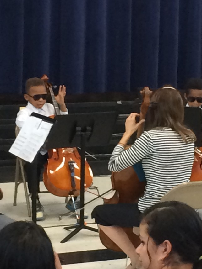 Winterfield students perform for the community