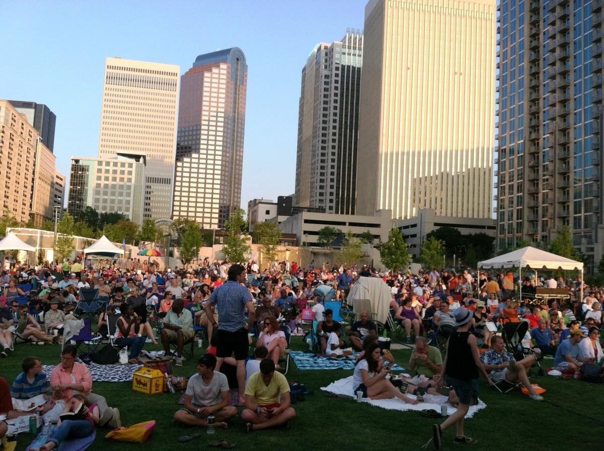 Romare Bearden Park June 14 2014 Charlotte Symphony Orchestra