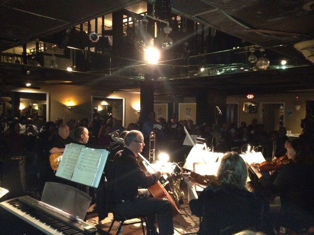"""Bridging Musical Worlds"" at Charlotte's historic Excelsior Club."